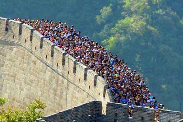 महान चीन दीवार पर जाएं
