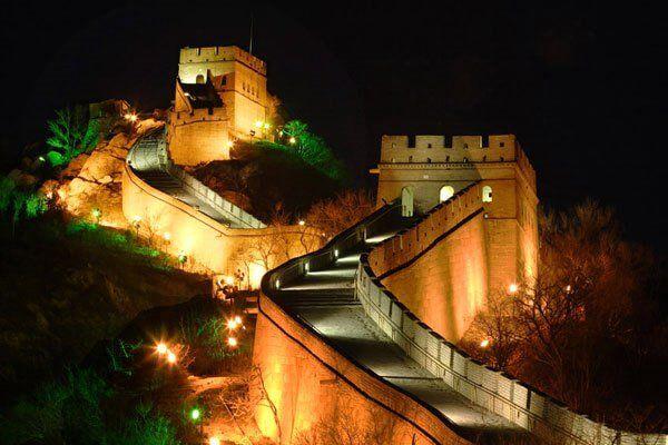 चीनी दीवार निर्माण समय