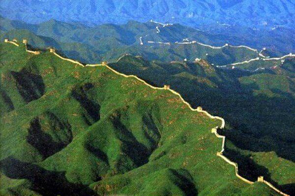 अंतरिक्ष से महान चीनी दीवार