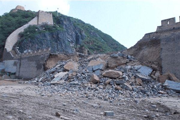 चीनी दीवार खंड