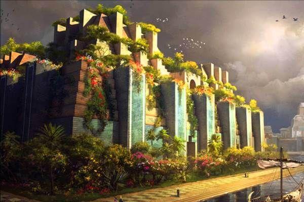 बाबुल के फांसी वाले बगीचे कैसे थे