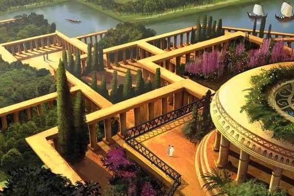 जिन्होंने बेबीलोनियन हैंगिंग गार्डन का निर्माण किया