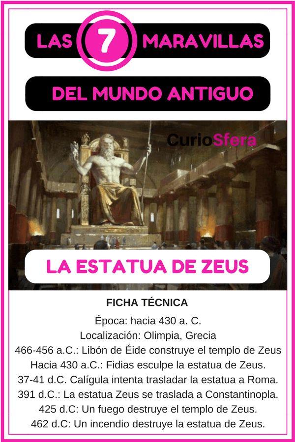 दुनिया के ओलंपिया चमत्कारों के उत्साह की मूर्ति