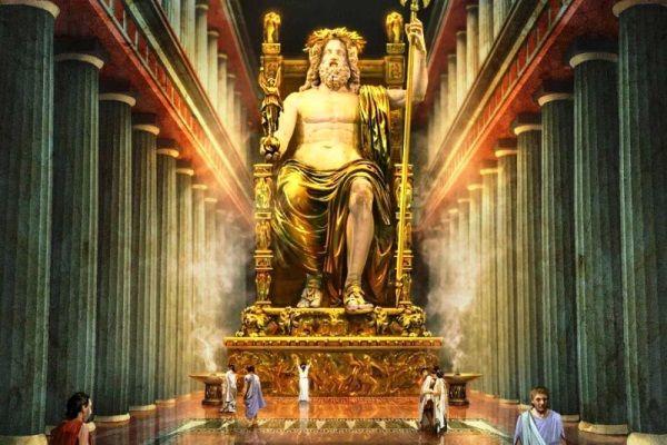ज़ीउस की मूल मूर्ति