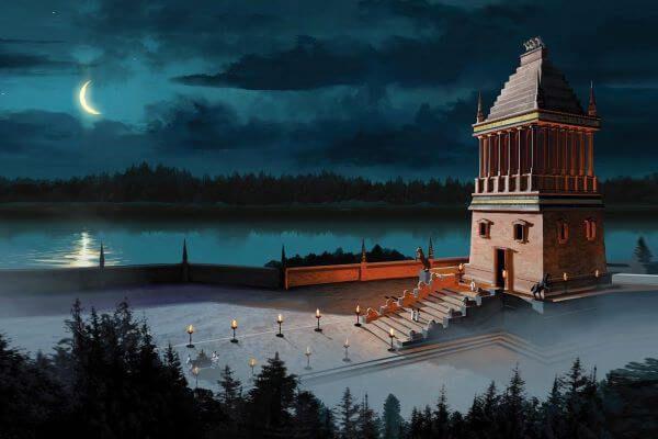 हेलिकर्नासस के 7 चमत्कार मकबरे