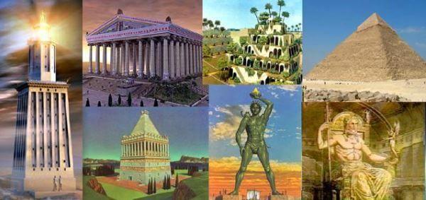 सात आश्चर्यों का इतिहास